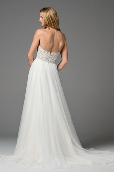 Designer: Watters Style: Rosina. Available at Bliss Bridal in Wisconsin. www.blissbridalonline.com