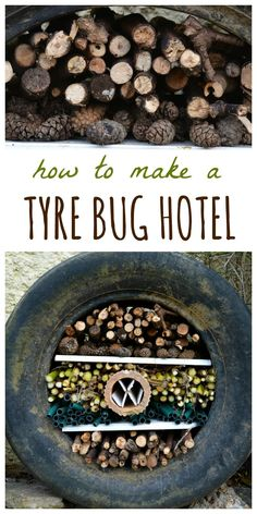 Create your own recycled tyre bug hotel. Learn how to use Create your own recycled tyre bug hotel. Learn how to use an old tyre with a ste… Create your own recycled tyre bug hotel. Learn how to use an old tyre with a ste… -