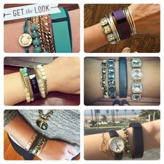 Style your fitbit with Chloe and Isabel by Angel http://www.chloeandisabel.com/boutique/angeliquemc/ff2c22