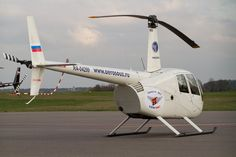 Śmigłowiec Robinson #R44 | #helicopter #Gdansk #airport