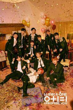 "Teaser )) Wanna One Mini Album (I Promise You)"" Group Teaser Photo Jinyoung, Lee Jong Suk, Logo Kpop, K Pop, Bae, Ong Seung Woo, Nothing Without You, Chaeyoung Twice, Idole"