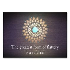 Gold Foil Ornate Leaf Mandala Wood Referral Card Business Card. Make your own business card with this great design. All you need is to add your info to this template. Click the image to try it out!
