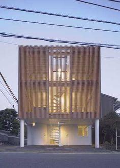 HK House by Tsuyoshi Michigami in the Ehime Prefecture in Matsuyama, Japan