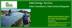 Pecgreeningindia.com, one of the premiere solar energy consultants provide their expertise and technical solutions to solar and wind projects all over India.