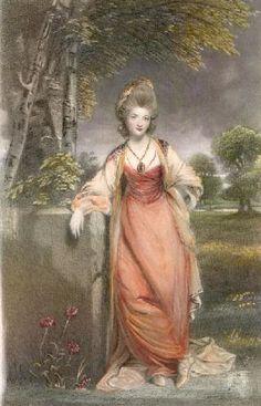 Lady Elizabeth Cavendish, Duchess of Devonshire after Sir Joshua Reynolds