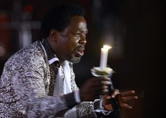 T.B. Joshua Holds Memorial Service for Synagogue Building Collapse Victims