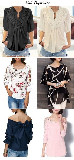 Cute Tops For Women   #liligal #blouse #shirts #top #womenswear #womensfashion