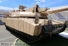 Leclerc MBT with Active Protection