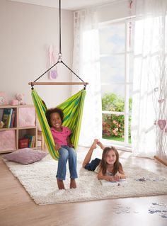 Every #princess needs a #Lori #Hammock #Chair available at www.hooplaroom.com