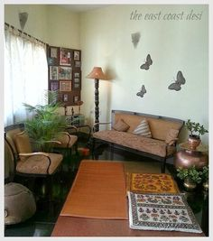Handmade Wall Hangings Bought At A Handicraft Were Customized As Floor Cushions Padminihouse