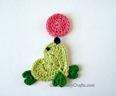 Seal Applique Crochet free pattern