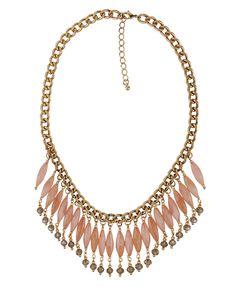 FOREVER21 - Beaded Fringe Necklace
