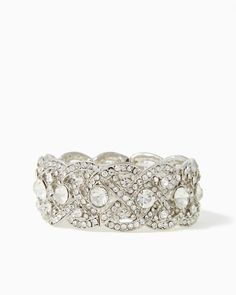charming charlie | Intertwined Shine Bracelet | UPC: 410005103031 #charmingcharlie