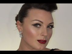 BEAUTIFUL and glamorous New Years Eve or Christmas Makeup Tutorial :)