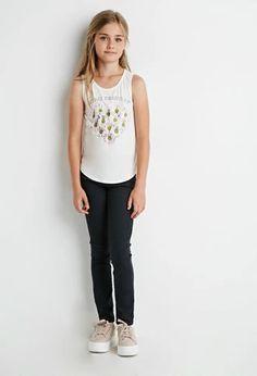 Daisy Merci Beaucoup Tank (Kids) | Forever 21 girls | #f21kids