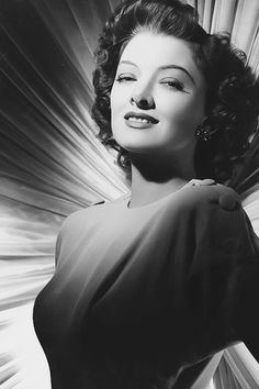 Myrna Loy photographed by Eric Carpenter, 1945