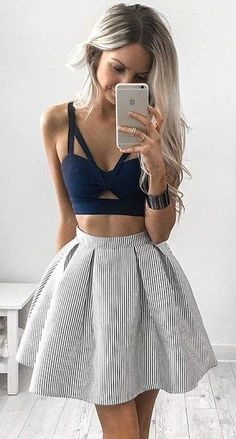 #summer #style |Navy + Stripes