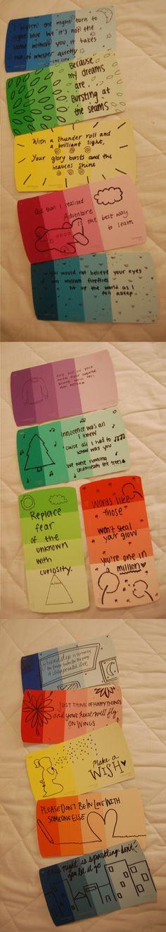 1000 images about paint chip ideas on pinterest paint