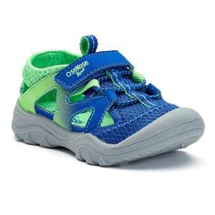 OshKosh B'gosh® Toddler Boys' Bungee Sandals, Boy's, Size: 10 T, Blue Other