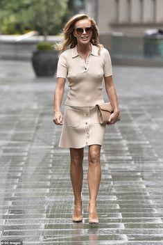 Blouse And Skirt, Shirt Dress, Britain's Got Talent Judges, Ashley Roberts, Jennifer Aniston Style, Nude Tops, Amanda Holden, Britain Got Talent
