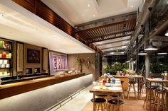 Café Melba in Singapore by Designphase dba