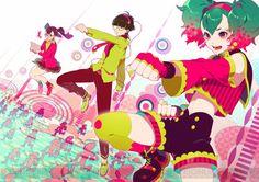Raspberry Monster Vocaloid