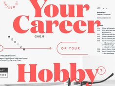 Hey folks, I've been working on a piece about the design industry and where it's failing designers, and things young designers often forget to consider on job hunts. One of the arguments I try to m...