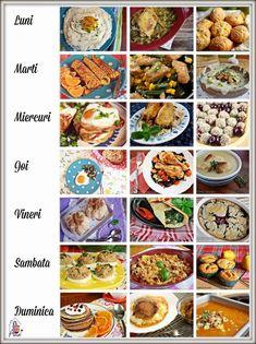Meniul Saptamanii, 8 - Ama Nicolae Grape Jelly Meatballs, Romanian Food, Tasty, Yummy Food, Meatball Recipes, Crockpot Recipes, Piri Piri, Bacon, Easy Meals