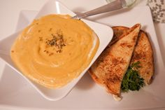 Project Pack a Lunch: Creamy butternut squash & pear soup