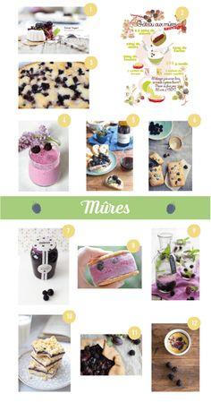 12 recettes à base de mûres Pretty, Happy, Fruits And Veggies, Recipes, Ser Feliz, Being Happy