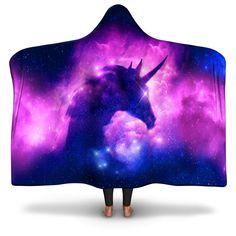Magical Unicorn Hooded Blanket - Youth / Premium Sherpa