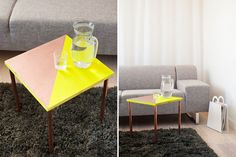 11 Gorgeous DIY Side Tables You Can Totally Make via Brit + Co.
