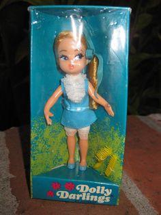 1967 NRFB Fancy Pants Dolly Darlings Vintage Hasbro Doll: Kiddles, Barbie Era  #DollswithClothingAccessories