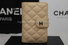 Chanel A48667 Wallet in Apricot Quilted Caviar Calfskin with Exterior Zipped Pocket  Code:A48667 Color:Apricot  Leather: Caviar Calfskin Dimension: 15CM*10CM*4CM Price:USD205 inquiry: buy@ladybag.us #chanelwallet #chanelA48667