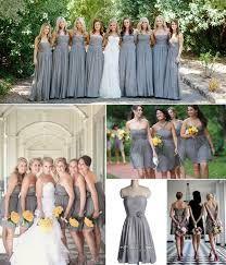 grey bridesmaid dresses - Google Search