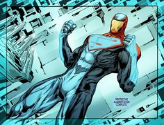 Dc Comics Heroes, Comic Book Superheroes, Comic Books Art, Comic Art, Book Art, Superman Suit, Black Superman, Superman Family, Val Zod