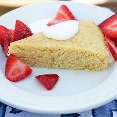 Two Tarts | Recipes and Cocktails: Lemon Cake with Strawberries