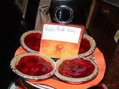 """Rues"" fruit tarts"