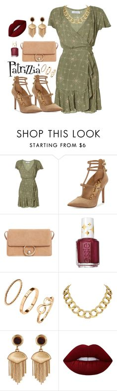 Patrizzia06.10.2016e by patrizzia on Polyvore featuring moda, Auguste, Sam Edelman, MANGO, House of Harlow 1960, Vince Camuto, H&M, Lime Crime and Essie
