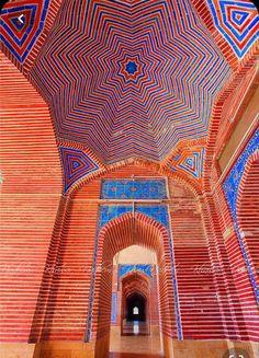 Mosque Architecture, Ancient Greek Architecture, Beautiful Architecture, Beautiful Buildings, Art And Architecture, Shah Jahan Mosque, Village Photos, Construction Documents, Beautiful Mosques