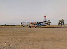 Air Tanker P4Y-2 Privateer N7620C #123 Stockton Airport August 1992