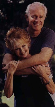 Shelley Fabares and Mike Farrell  . . married since 1984