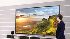 WEB LUXO - Eletrônicos: TV de 80 polegadas 3D LED Ultra Definition custa R$ 45 mil