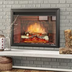 Puraflame western 750w1500w black 30 inch electric fireplace insert armes 33 black 7501500w western electric fireplace insert teraionfo