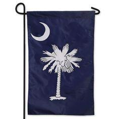 Palmetto Tree and Moon Decorative Garden Flag