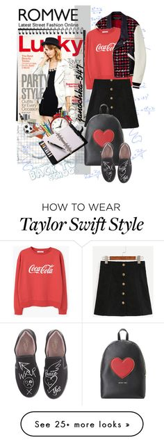 """School"" by janochka-547 on Polyvore featuring Junya Watanabe Comme des Garçons, MANGO, Love Moschino and Vivienne Westwood"