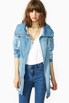 Boys Don't Cry Denim Jacket from Nasty Gal