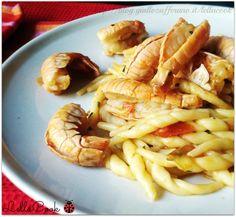 Trofie con gli scampi - http://blog.giallozafferano.it/lellacook/trofie-con-gli-scampi