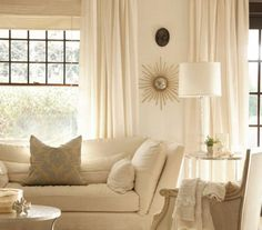 cream wall and sofa design in living room witth sun light and modern light lamp design for home and advice for home furniture and home decoration 4 My Living Room, Home And Living, Living Room Furniture, Living Room Decor, Living Spaces, Furniture Chairs, Rustic Furniture, Office Furniture, Furniture Ideas