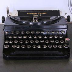 Antique Remington Typewriter